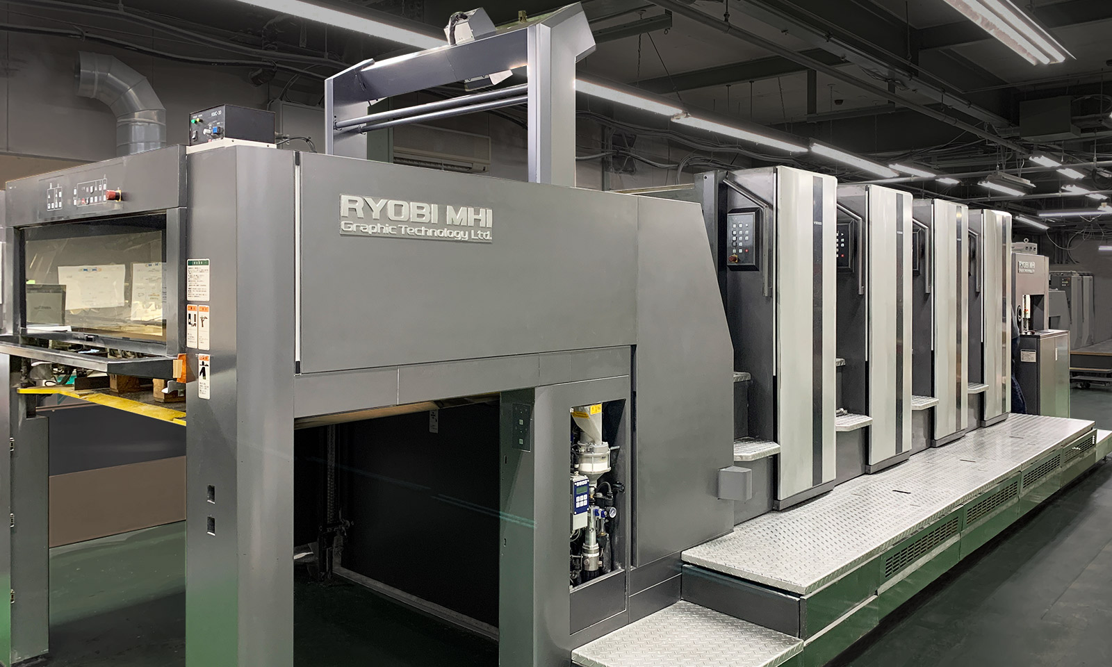 菊全4色印刷機V3000LS-4